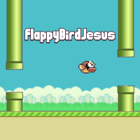 Flappy Bird Jesus